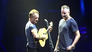Sting Стинг на разогреве его сын Joe Sumner Санкт Петербург Ледовый Дворец 01 10 2017