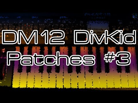 Behringer DeepMind 12 - DivKid Patches #3 with Nicolas Sykes