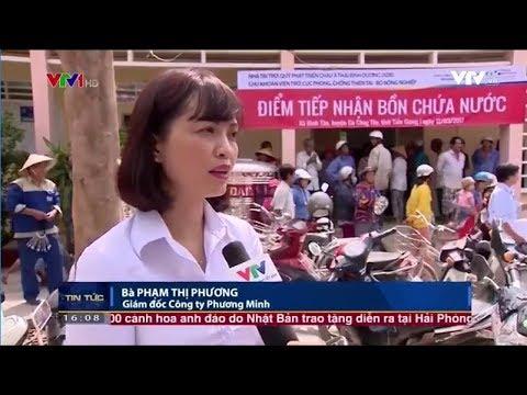 Tân Á Đại Thành tặng bồn nước Vigo SUS 316 cho bà con ở vùng nước nhiễm phèn, mặn
