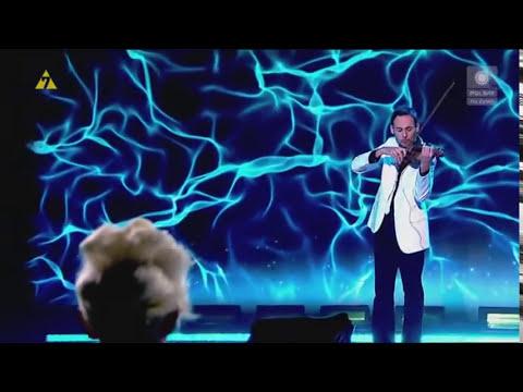 Marcin Diling Electro Csardas on Violin .flv