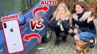 IPHONE vs AUTO...😳 wird es überleben?
