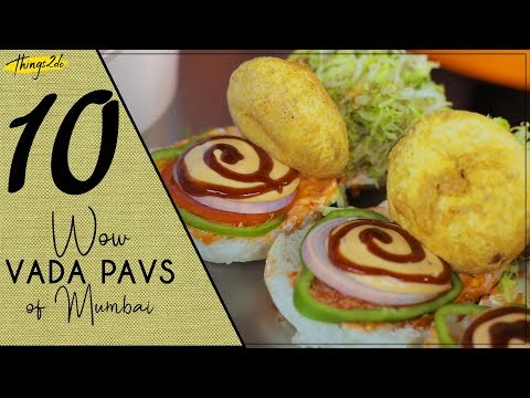 10 Best Vada pav in Mumbai | Indian Street Food | Maharashtra