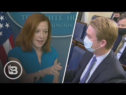 Reporter Flips Script on Psaki, Reads Biden's Own Words on Jim Crow Era...BRUTAL