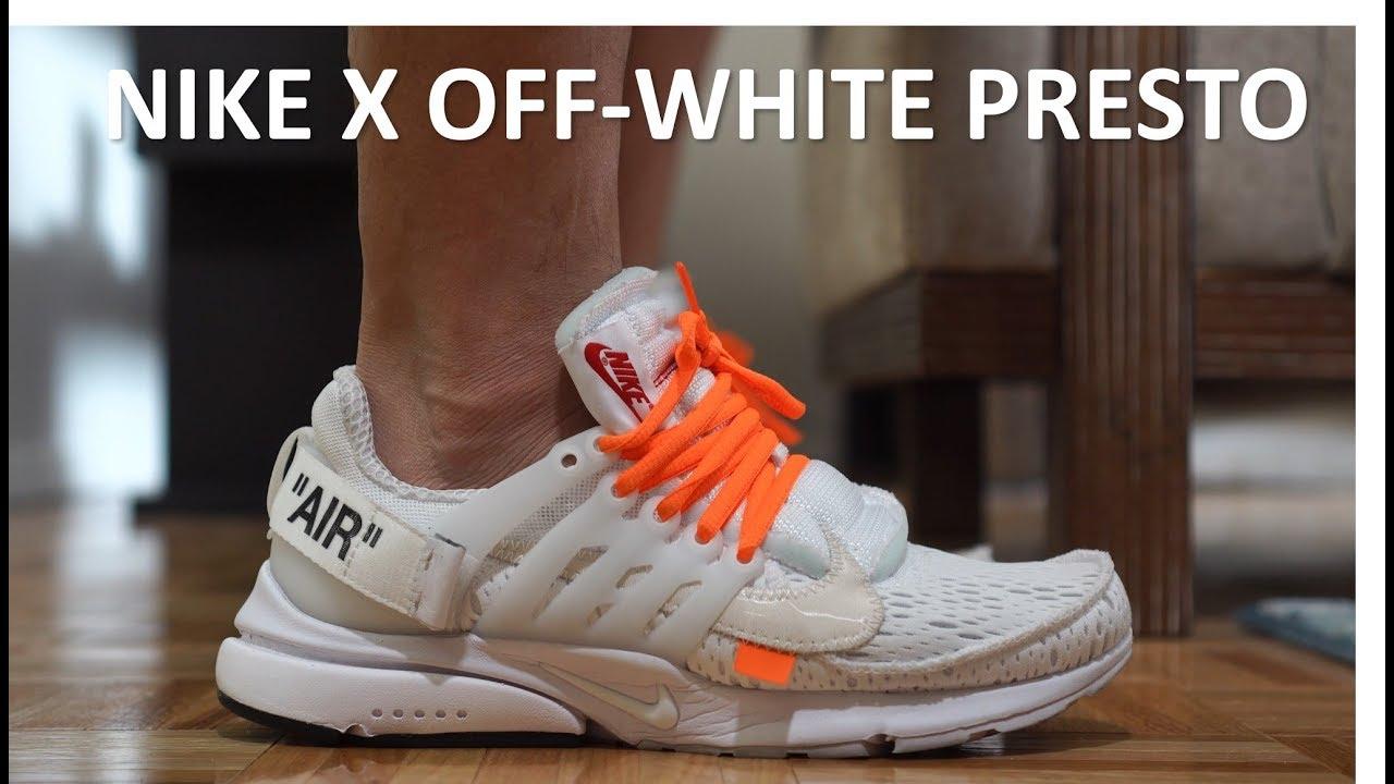 Nike x Off White Presto
