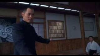 Fist of Legend; Jet Li vs. the Japanese school