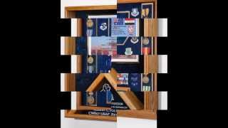 Military Shadow Boxes & Awards Display Cases