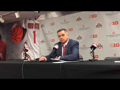 Ohio State basketball: Chris Holtmann after loss to Clemson
