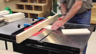 The Down To Earth Woodworker - Sawstop Outfeed Table Part 6a