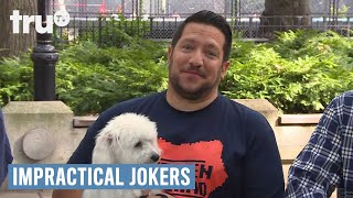 Video Impractical Jokers - Watch My Dog | truTV download MP3, 3GP, MP4, WEBM, AVI, FLV Agustus 2018