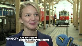 Dopravní podnik představil tramvaj T3 Coupé