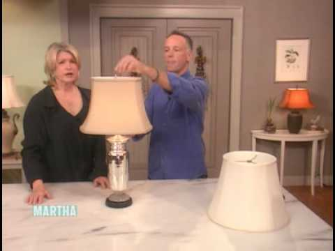 How to choose a lamp shade martha stewart youtube how to choose a lamp shade martha stewart aloadofball