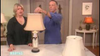 How to Choose a Lamp Shade ⎢Martha Stewart