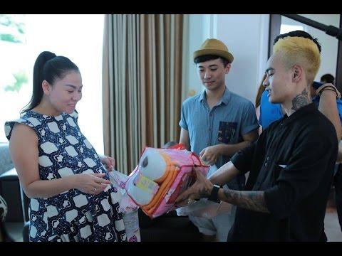 Vietnam Idol 2015 - Top 8 thăm GK Thu Minh tại nhà riêng