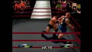 WWF Wrestlemania 2000 Nintendo 64 Gameplay_1999_08_02_1