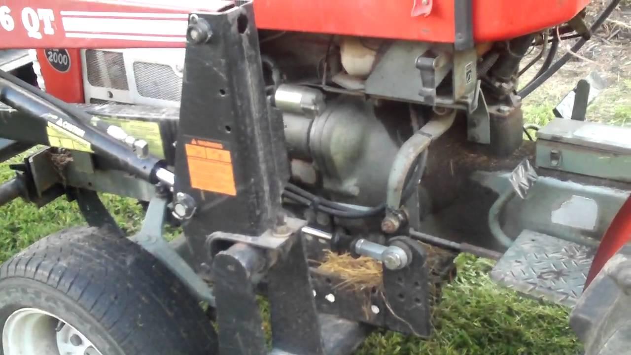 Power Steering Kits For Kubota Tractors : Yanmar ym powersteering youtube