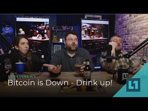 News: Bitcoin Is Down, Drink Up #level1news