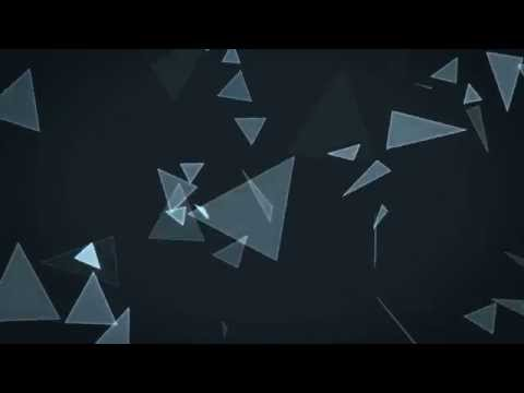 #2- Free Abstract Triangles Background Loop- HD