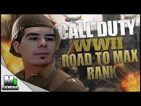Call of Duty World War 2 Open Beta - ROAD TO MAX RANK & ALL WEAPONS