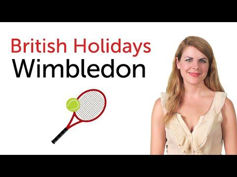 British English Holidays - Wimbledon