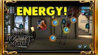 NEW FREE ENERGY LOCATIONS! - HARRY POTTER: HOGWARTS MYSTERY