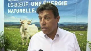 Sommet de l'Elevage 2011 : Interview Xavier Beulin et Pierre Chevalier