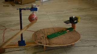 Science project Mangalyaan (MOM) working model