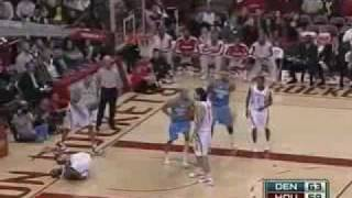 Tracy McGrady scores triple double in a game vs Nuggets (2008-2009)