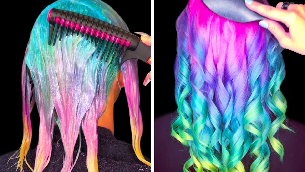 COLORFUL HAIR IDEAS THAT ARE SO COOL - YouTube