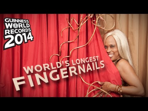 Longest Fingernails In The World! - Guinness World Records