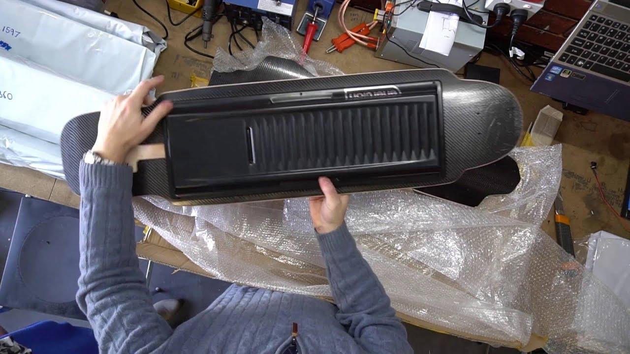 New Carbon Fiber Electric Skateboard Deck  VL046  YouTube