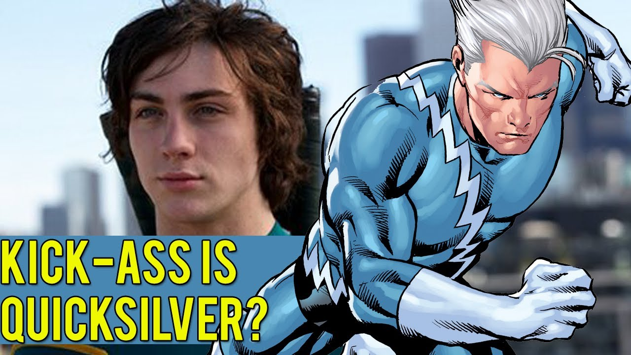 Aaron Taylor-Johnson is the OFFICIAL Quicksilver of ...