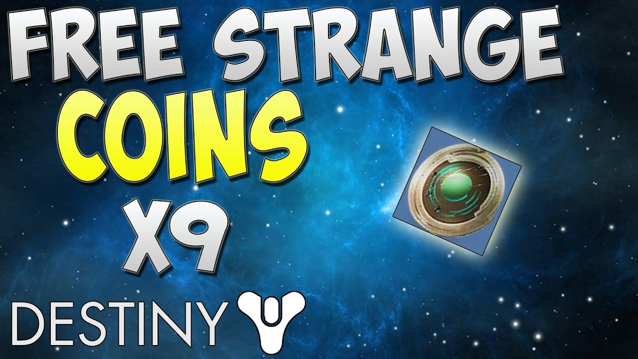 Destiny How To Get Strange Coins