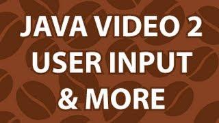 Java Video Tutorial 2