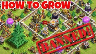 BANNED?? AMAZING TREE BASE PLAYERS 2018 Clash Of Clans(Hindi)Sam1735