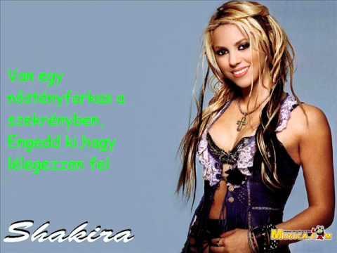 Shakira she wolf magyar felirat.