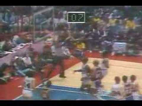 Magic Johnson started at center (1980 NBA Finals G6)
