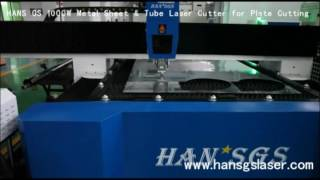 HANS GS 1000W Metal Sheet & Tube Laser Cutter for Metal Plate Cutting