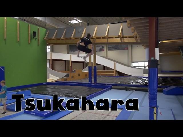 Trampolin Tutorial - TSUKAHARA // Freestyle Academy Stuttgart