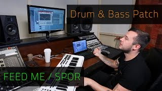 FEED ME / SPOR | Drum N Bass Patch | FL Studio | Razer Music