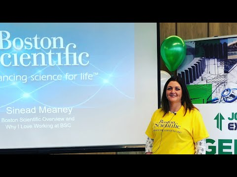 Sinead Meaney: Why I love working at Boston Scientific
