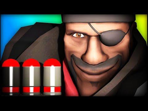 WOW Triple pipe!!! Demoman OP? - TF2 Highlights