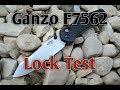 Ganzo Firebird G756 F7562 EDC Knife: Overview + Lock Test