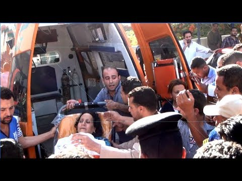 EGYPT || Wounded Coptic arrive to Cairo's hospitals amidst Christian anger