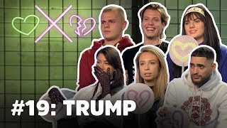 'President Trump voor mij in één woord?! KWAL!' | Loiza Lamers, Famke Louise & Josylvio HATEN Trump.