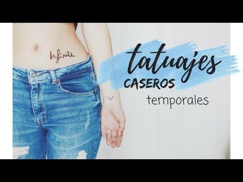 TATUAJES  CASEROS TEMPORALES TUMBLR  DIY//CARLY HALL