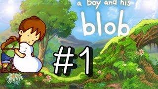 A Boy And His Blob Walkthrough Part 1 (Wii) 100% ○Level 1-1○ (+intro)