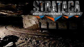 #1094 STRATACA Haunted Underground Salt Mines of KANSAS - Jordan The Lion Daily Travel Vlog (8/5/19)