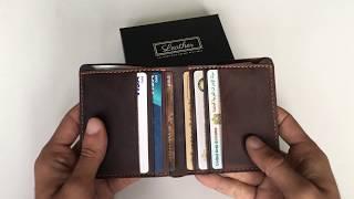 Bi-Fold Leather Wallet for Men