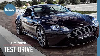 Aston Martin V12 Vantage: A Bloody Good Car! |  2-Minute Test Drive