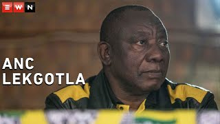 President of the ruling party Cyril Ramaphosa gave feedback on the ANC's lekgotla, which was held over the weekend. Ramaphosa said that the party discussed a number of issues including border management and strict consequences for officials who rob the poor of services.